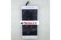 """Фирменный LCD-ЖК-сенсорный дисплей-экран-стекло с тачскрином на телефон Oppo A37"""" белый + гарантия"""