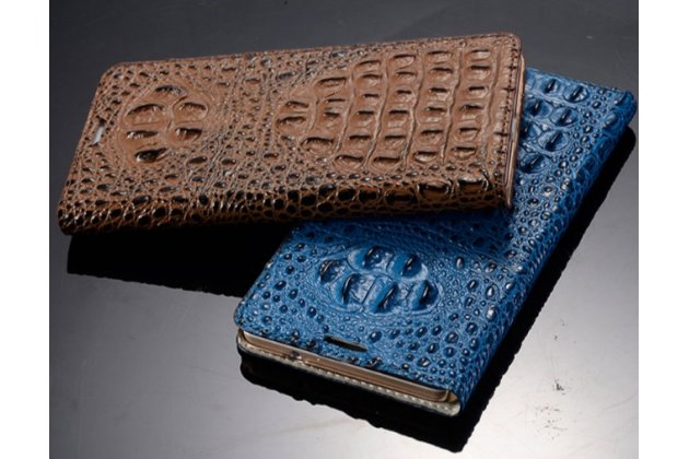 Фирменный роскошный эксклюзивный чехол с объёмным 3D изображением рельефа кожи крокодила для OPPO N3. Цвет на выбор. Только в нашем магазине. Количество ограничено