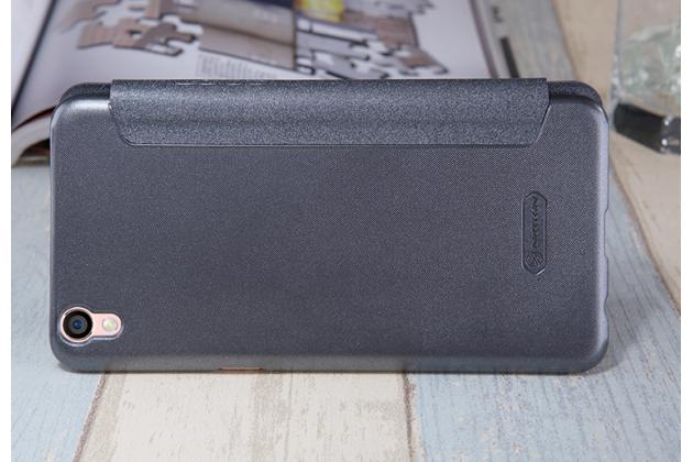 """Фирменный оригинальный водооталкивающий чехол-книжка для Oppo R9+ plus"""" черный"""