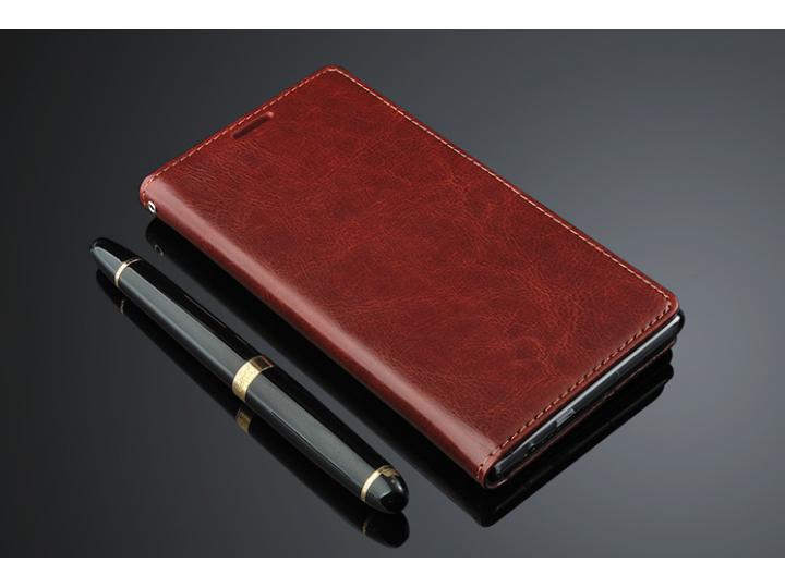 Фирменный чехол-книжка для  Оппо У3