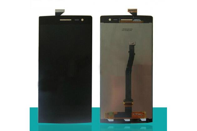 Фирменный LCD-ЖК-сенсорный дисплей-экран-стекло с тачскрином на телефон Oppo Find 7 черный + гарантия