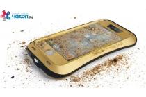 Неубиваемый водостойкий противоударный водонепроницаемый грязестойкий влагозащитный ударопрочный фирменный чехол-бампер для Oppo Find 7 (X9007) / Oppo R9 Plus цельно-металлический со стеклом Gorilla Glass