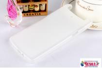 Фирменная ультра-тонкая силиконовая задняя панель-чехол-накладка для OPPO N1 mini белая
