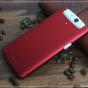 Фирменная задняя панель-крышка-накладка из тончайшего и прочного пластика для OPPO N1 mini красная