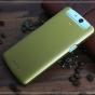 """Фирменная задняя панель-крышка-накладка из тончайшего и прочного пластика для OPPO N1 mini"""" золотая"""