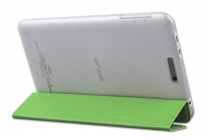 Фирменный умный чехол самый тонкий в мире для Onda V80 Plus/ Onda V820W CH/ Onda V820W 32Gb iL Sottile зеленый  пластиковый Италия