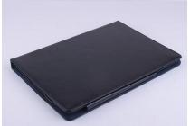 """Фирменный чехол-футляр-книжка для Onda V989 /V975W / V975i 9.7"""" черный кожаный"""