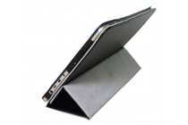 """Фирменный оригинальный чехол обложка с подставкой для Onda oBook 10 SE 10.1"""" черный кожаный"""