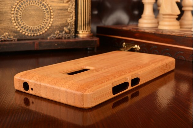 Фирменная оригинальная деревянная бамбуковая задняя панель-крышка-накладка для OnePlus 2 (Two) A2001