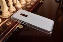 Фирменная ультра-тонкая полимерная из мягкого качественного силикона задняя панель-чехол-накладка для OnePlus 2 (Two) A2001 белая