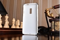 Противоударный усиленный ударопрочный фирменный чехол-бампер-пенал для OnePlus 2 (Two) A2001 белый