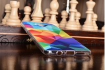 Фирменная необычная из силикона задняя панель-чехол-накладка для OnePlus 3T тематика Цветная Геометрия