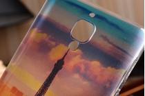 Фирменная необычная из силикона задняя панель-чехол-накладка для OnePlus 3T тематика Франция