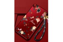 """Фирменный необычный чехол для OnePlus 3T """"тематика Винтажные Розы"""""""