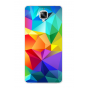 Фирменная необычная из силикона задняя панель-чехол-накладка для OnePlus 3T тематика Цветная Геометрия..