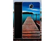 Фирменная необычная из силикона задняя панель-чехол-накладка для OnePlus 3T тематика Мост Мечты..