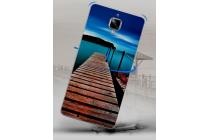 Фирменная необычная из силикона задняя панель-чехол-накладка для OnePlus 3T тематика Мост Мечты