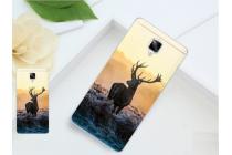 Фирменная необычная из силикона задняя панель-чехол-накладка для OnePlus 3T тематика Олень