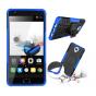 Противоударный усиленный ударопрочный фирменный чехол-бампер-пенал для OnePlus 3T синий ..