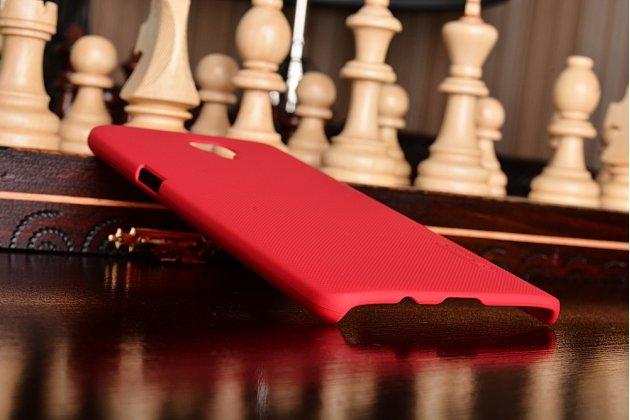 Фирменная задняя панель-крышка-накладка из тончайшего и прочного пластика для OnePlus 3T красная