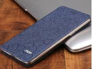 Фирменный чехол-книжка водоотталкивающий с мульти-подставкой на жёсткой металлической основе для OnePlus 3T A3..