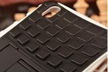 """Противоударный усиленный ударопрочный фирменный чехол-бампер-пенал для OnePlus X / One + X/ E1001 5.0"""" белый"""