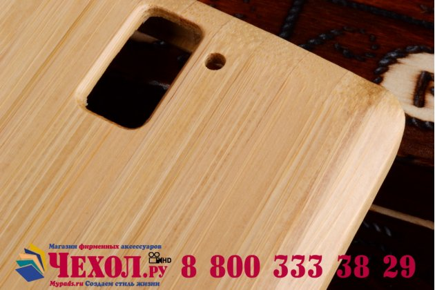 Фирменная оригинальная деревянная бамбуковая задняя панель-крышка-накладка для OnePlus One