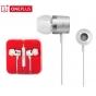 Фирменные оригинальные наушники-вкладыши OnePlus One MH127  с микрофоном и переключателем песен для всех модел..