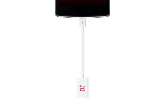 Фирменный оригинальный USB-переходник / OTG-кабель для телефона OnePlus One + гарантия