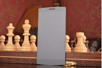 Фирменный LCD-ЖК-сенсорный дисплей-экран-стекло с тачскрином на телефон OnePlus One черный + гарантия