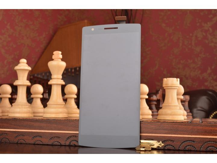 Фирменный LCD-ЖК-сенсорный дисплей-экран-стекло с тачскрином на телефон OnePlus One черный + гарантия..