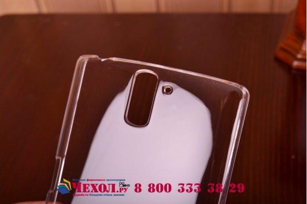 Фирменная ультра-тонкая пластиковая задняя панель-чехол-накладка для OnePlus One прозрачная