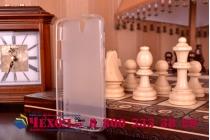 Фирменная задняя панель-крышка-накладка из тончайшего силикона  для OnePlus One белая