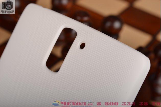Фирменная задняя панель-крышка-накладка из тончайшего и прочного пластика для OnePlus One белая
