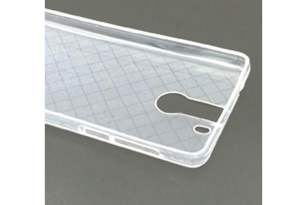 Силиконовый чехол мягкого качественного силикона задняя панель-чехол-накладка для  OUKITEL K6000 Pro прозрачная