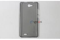 Фирменная ультра-тонкая из качественного пластика задняя панель-чехол-накладка для Oukitel С3 черная