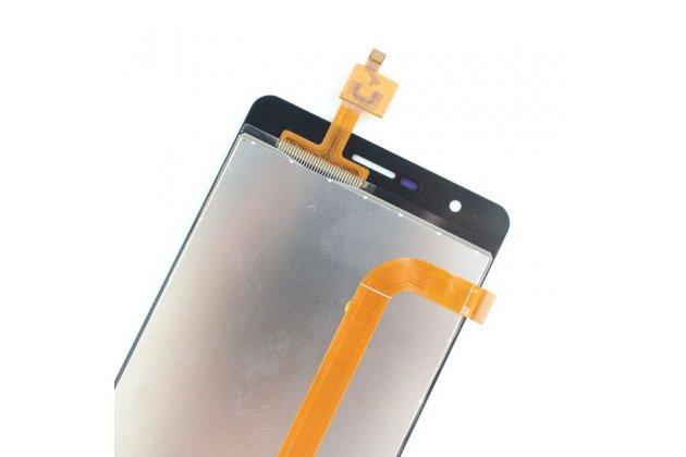 Фирменный LCD-ЖК-сенсорный дисплей-экран-стекло с тачскрином на телефон Oukitel K4000 золотой