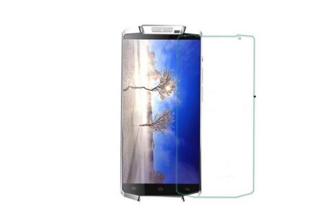Фирменное защитное закалённое противоударное стекло премиум-класса из качественного японского материала с олеофобным покрытием для телефона Oukitel K10000