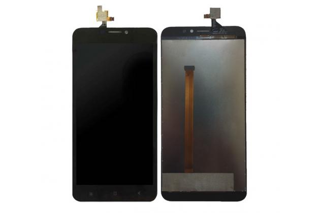 Фирменный LCD-ЖК-сенсорный дисплей-экран-стекло с тачскрином на телефон Oukitel U20 Plus черный + гарантия