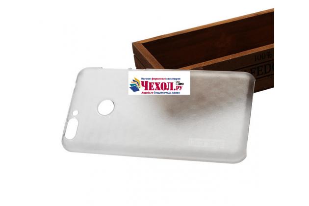 Фирменная задняя панель-крышка-накладка из тончайшего и прочного пластика для Oukitel U20 Plus прозрачная