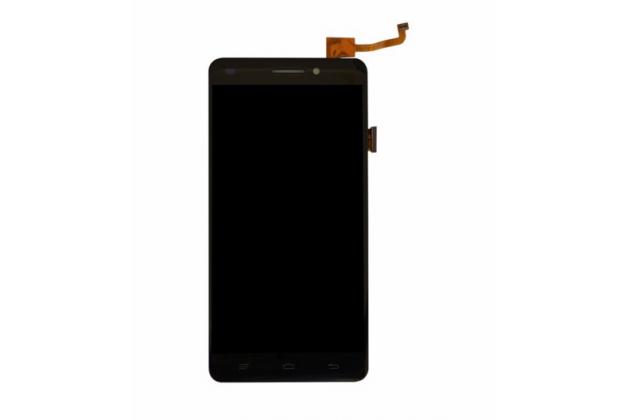 Фирменный LCD-ЖК-сенсорный дисплей-экран-стекло с тачскрином на телефон Oukitel U8 черный