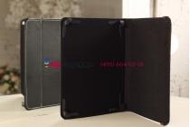 Чехол-обложка для Oysters T97 3G черный кожаный