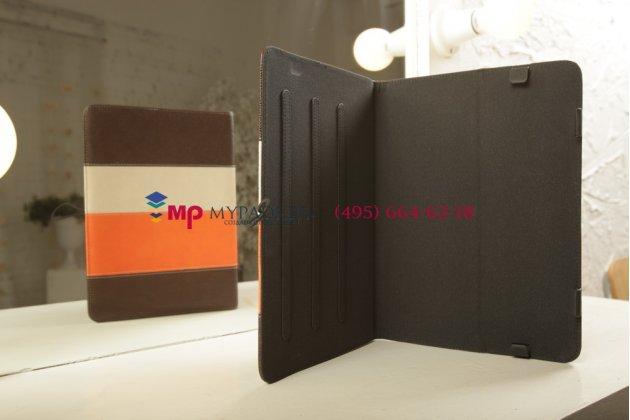 """Чехол-обложка для Oysters-T97 3G кожаный """"Deluxe"""". цвет в ассортименте"""