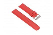 Фирменный сменный кожаный ремешок для умных смарт-часов Pebble SmartWatch/ Time Steel 22mm из качественной импортной кожи