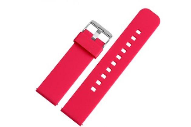 Фирменный необычный сменный силиконовый ремешок  для умных смарт-часов Pebble SmartWatch/ Time Steel РАЗМЕР 22mm разноцветный