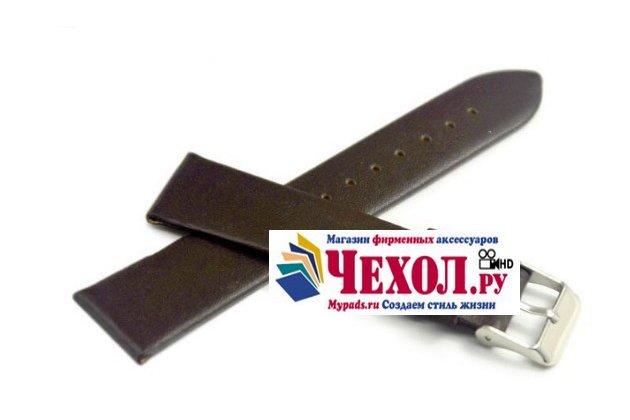 Фирменный сменный кожаный ремешок для умных смарт-часов Pebble Time из качественной импортной кожи