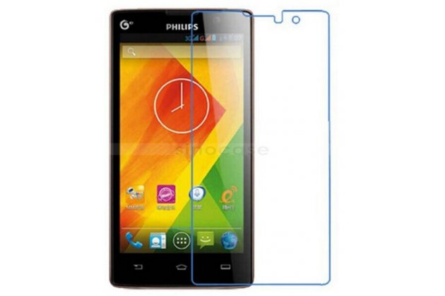 Фирменная оригинальная защитная пленка для телефона Philips Xenium W3500  матовая