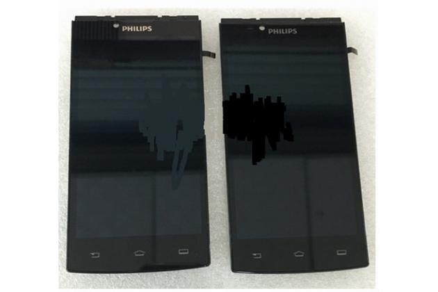 Фирменный LCD-ЖК-сенсорный дисплей-экран-стекло с тачскрином на телефон Philips S398 черный