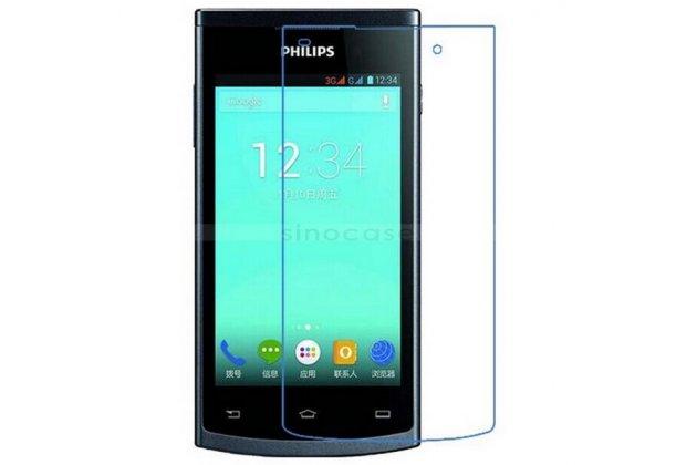 Фирменная оригинальная защитная пленка для телефона Philips S301/S308 матовая