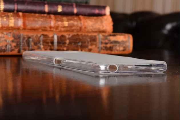 Фирменная ультра-тонкая полимерная из мягкого качественного силикона задняя панель-чехол-накладка для ZTE Nubia My Prague Elite белая